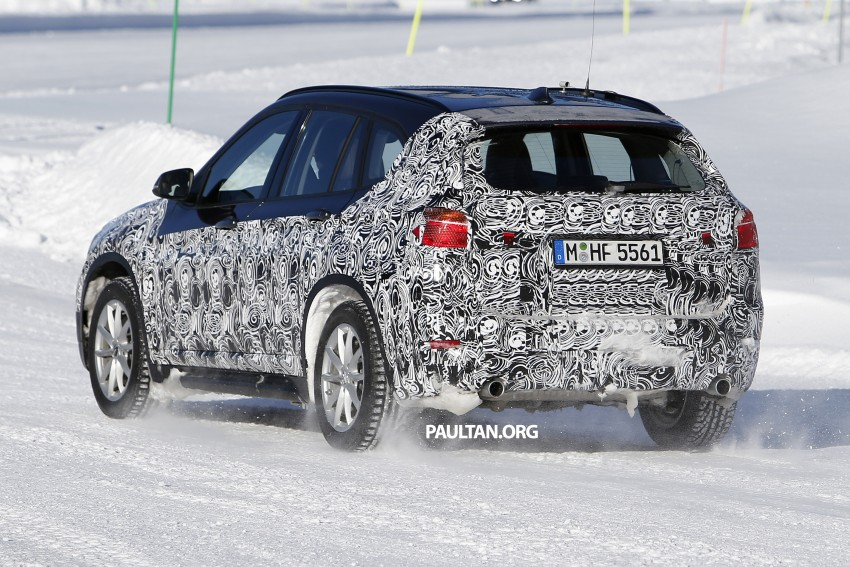 SPIED: F48 BMW X1 – FWD SUV loses some camo Image #319203