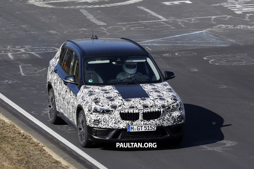 SPIED: F48 BMW X1 – FWD SUV loses some camo Image #319601