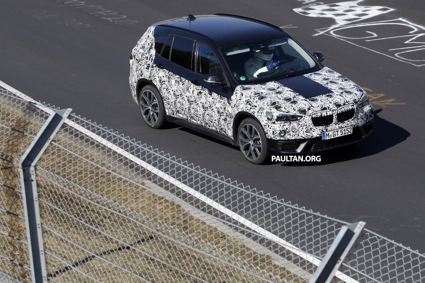SPIED: F48 BMW X1 – FWD SUV loses some camo Image #319600