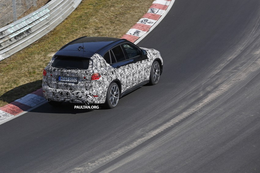 SPIED: F48 BMW X1 – FWD SUV loses some camo Image #319596