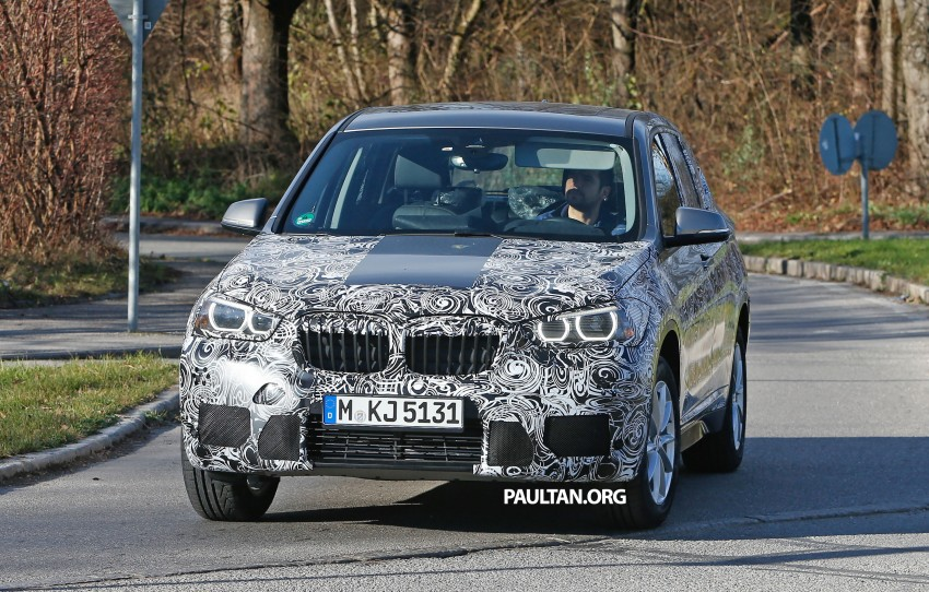 SPIED: F48 BMW X1 – FWD SUV loses some camo Image #296830