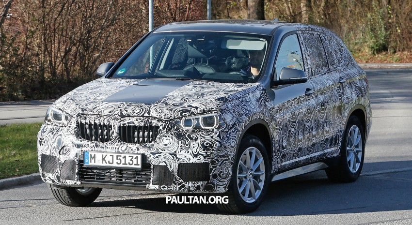 SPIED: F48 BMW X1 – FWD SUV loses some camo Image #296826