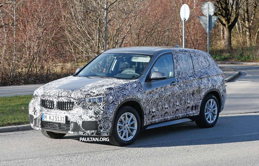 SPIED: F48 BMW X1 – FWD SUV loses some camo Image #296828