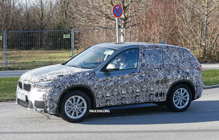 SPIED: F48 BMW X1 – FWD SUV loses some camo Image #296822