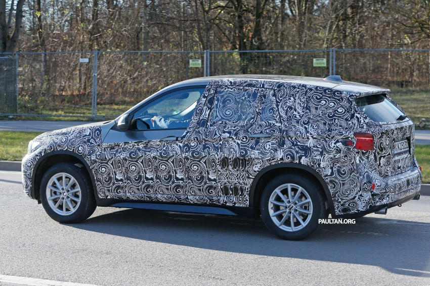SPIED: F48 BMW X1 – FWD SUV loses some camo Image #296825