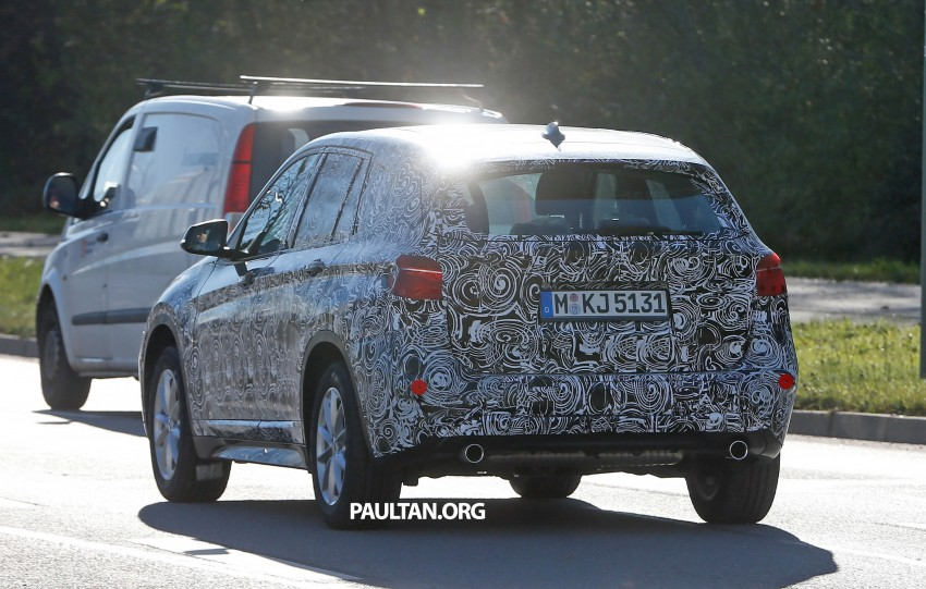 SPIED: F48 BMW X1 – FWD SUV loses some camo Image #296821