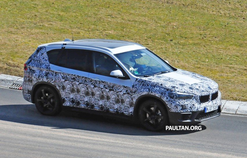 SPIED: F48 BMW X1 – FWD SUV loses some camo Image #319313