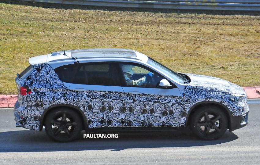 SPIED: F48 BMW X1 – FWD SUV loses some camo Image #319317