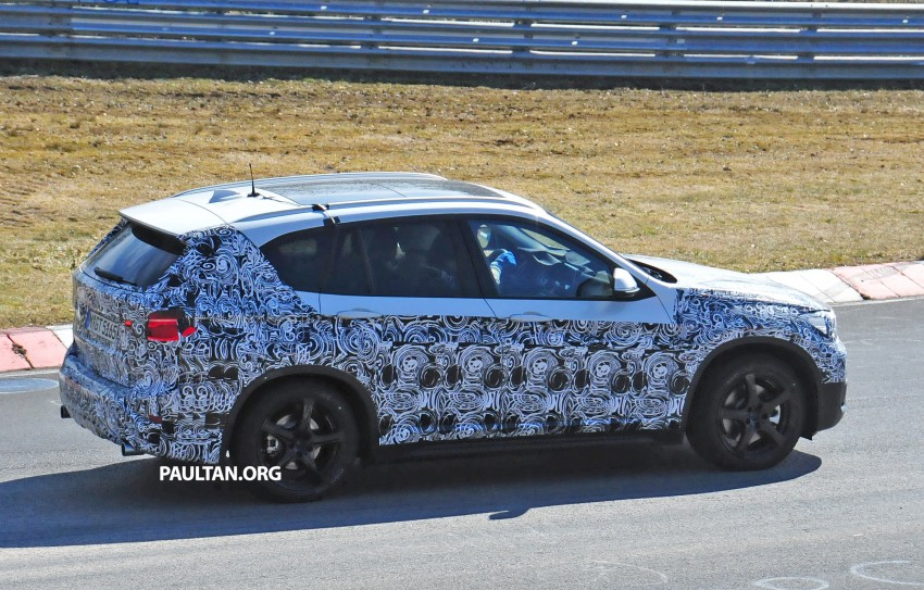 SPIED: F48 BMW X1 – FWD SUV loses some camo Image #319322