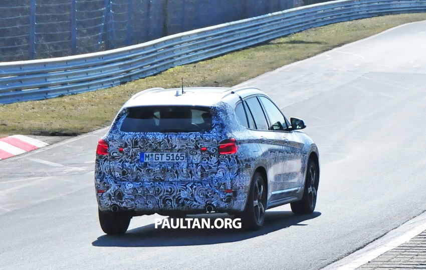 SPIED: F48 BMW X1 – FWD SUV loses some camo Image #319321