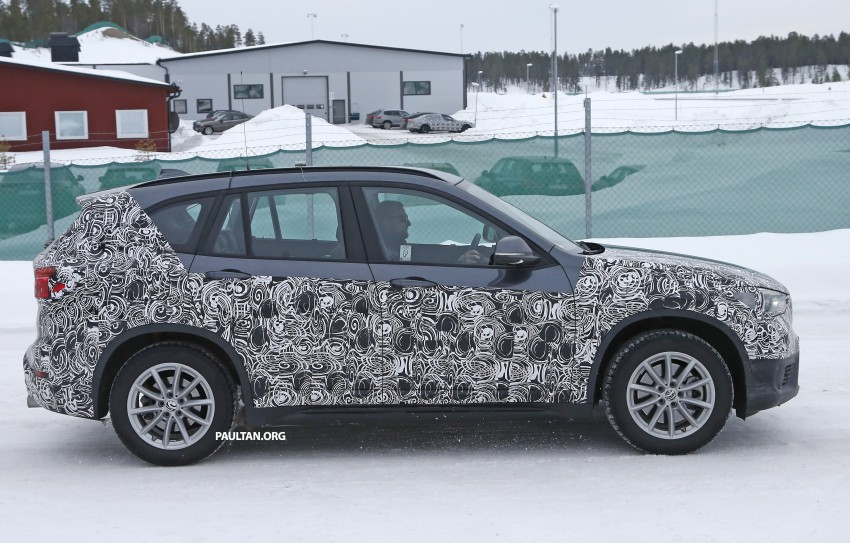 SPIED: F48 BMW X1 – FWD SUV loses some camo Image #319311