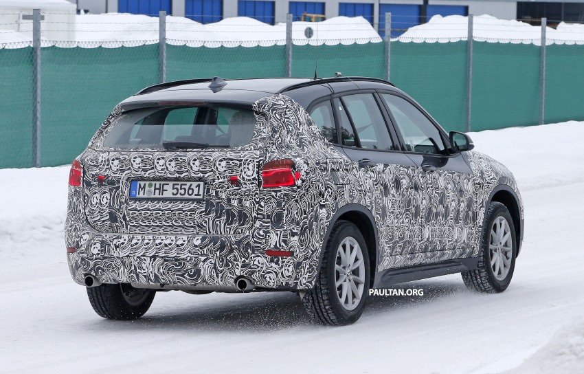 SPIED: F48 BMW X1 – FWD SUV loses some camo Image #319308