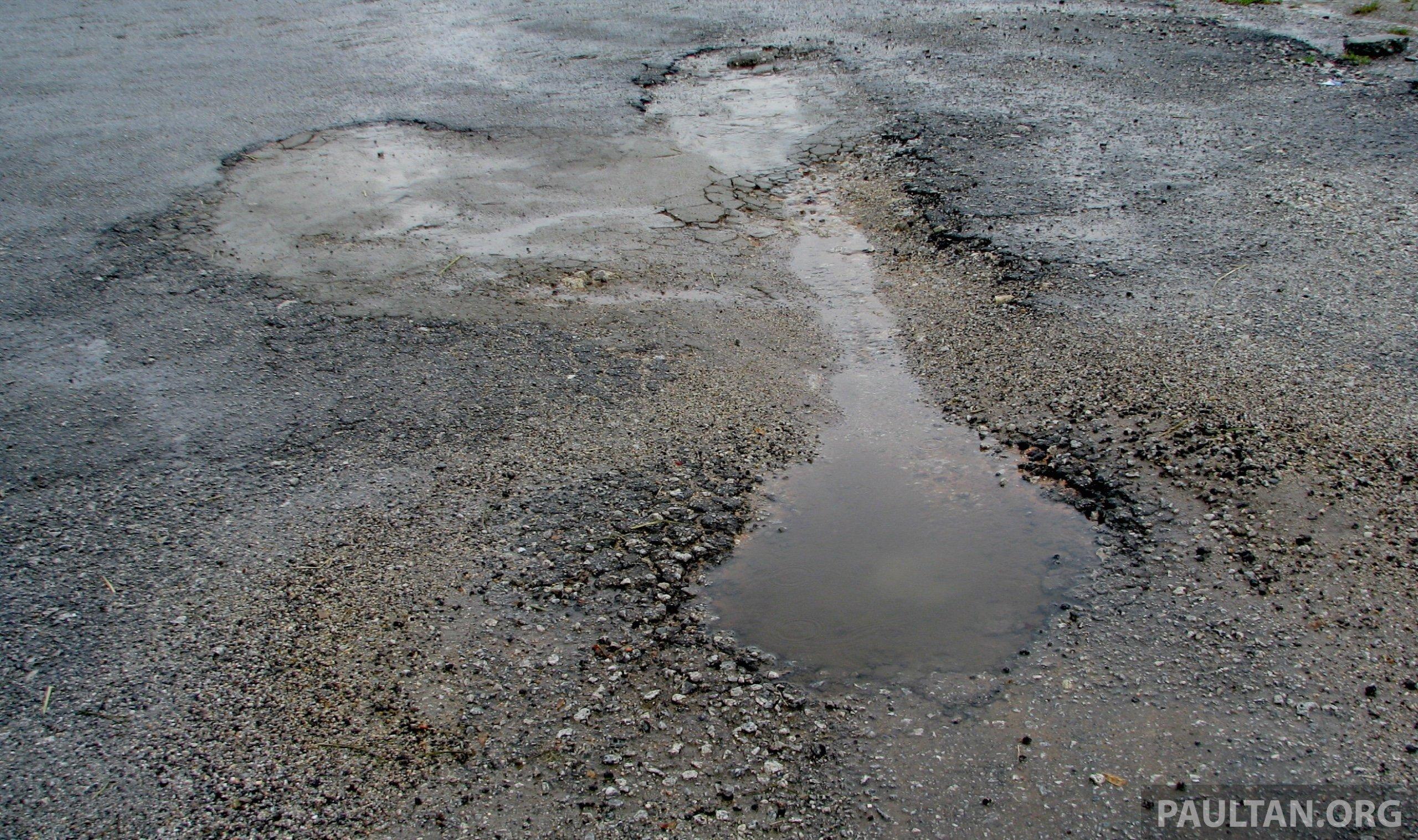 kuala lumpur to be pothole