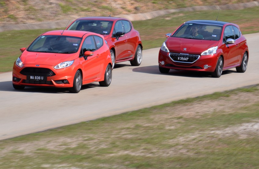 Ford Fiesta ST vs Peugeot 208 GTi vs Renault Clio RS – which one is the best hot hatch on sale in Malaysia? Image #298585