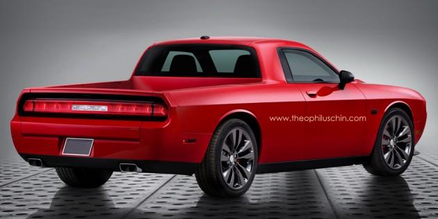 Dodge Challenger Truck 3