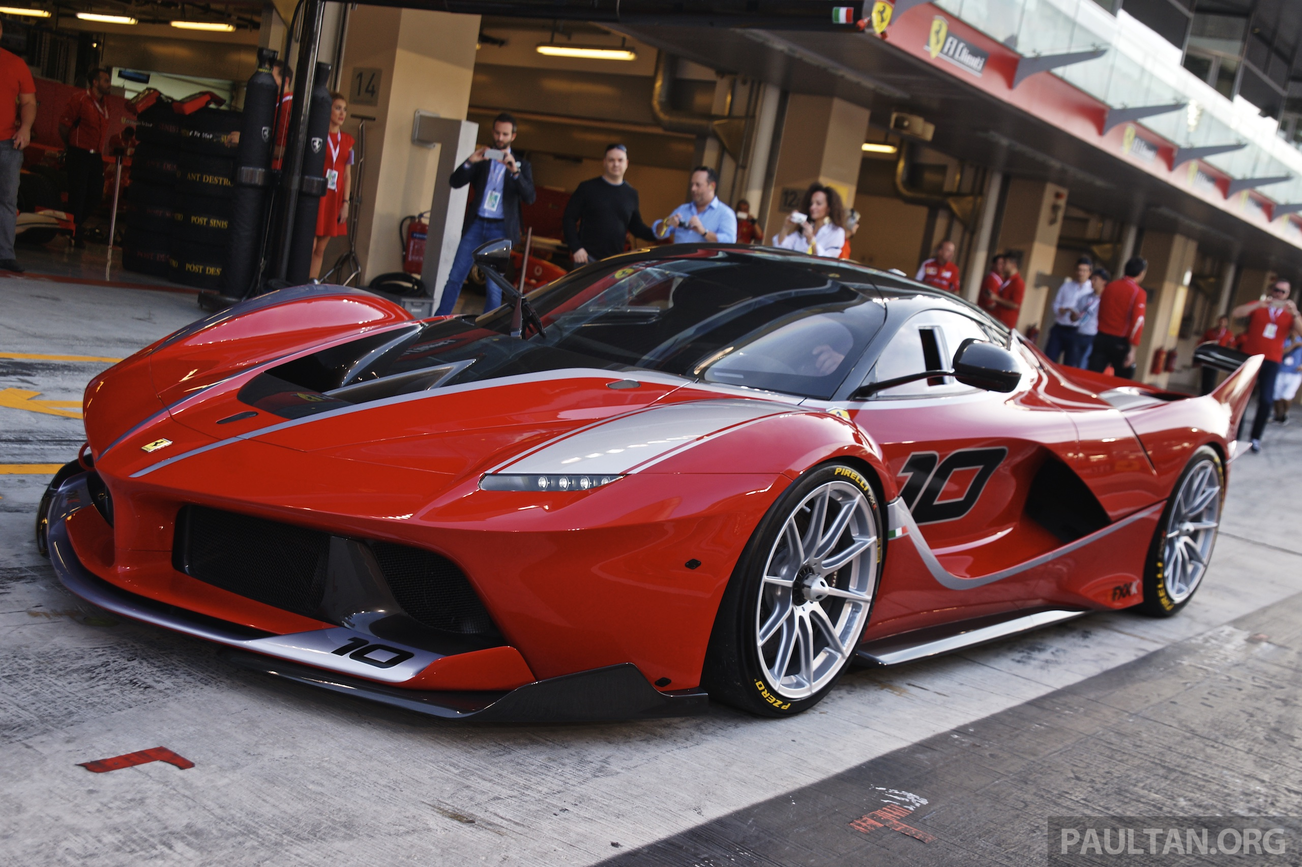 Gallery 1 050 Hp Ferrari Fxx K At Yas Marina Circuit