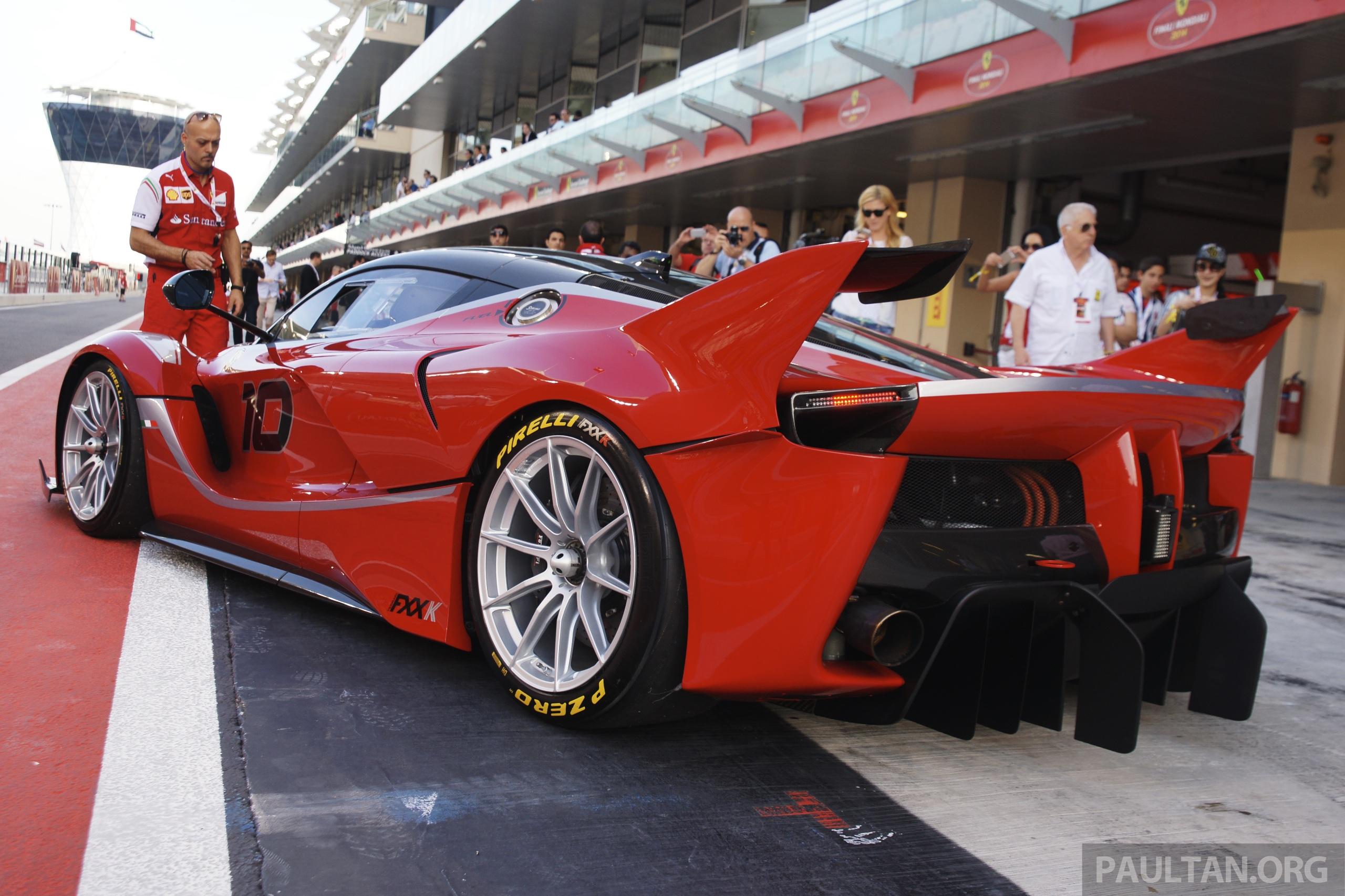 Yas Marina Circuit >> GALLERY: 1,050 hp Ferrari FXX K at Yas Marina Circuit Paul Tan - Image 294189