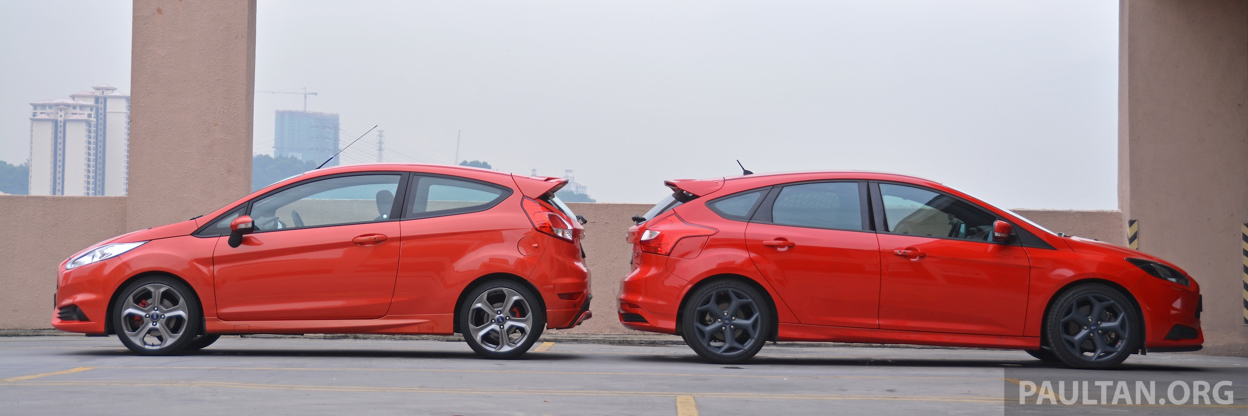 GALLERY: Ford Fiesta ST and Focus ST compared Paul Tan - Image 298414
