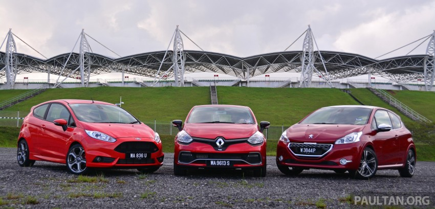 Ford Fiesta ST vs Peugeot 208 GTi vs Renault Clio RS – which one is the best hot hatch on sale in Malaysia? Image #297760