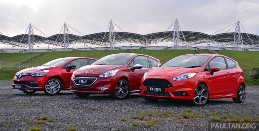 Ford Fiesta ST vs Peugeot 208 GTi vs Renault Clio RS – which one is the best hot hatch on sale in Malaysia? Image #297762