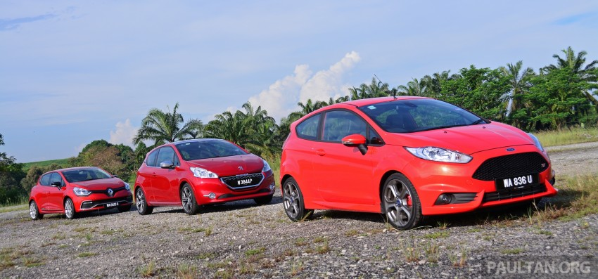 Ford Fiesta ST vs Peugeot 208 GTi vs Renault Clio RS – which one is the best hot hatch on sale in Malaysia? Image #297772