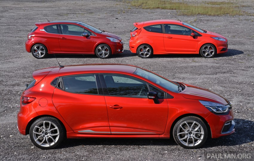 Ford Fiesta ST vs Peugeot 208 GTi vs Renault Clio RS – which one is the best hot hatch on sale in Malaysia? Image #297773