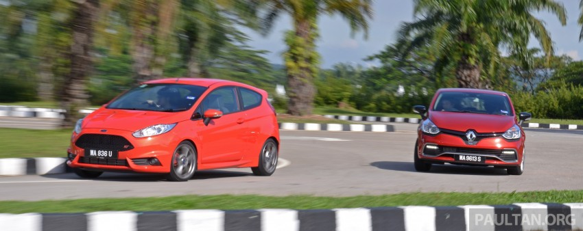 Ford Fiesta ST vs Peugeot 208 GTi vs Renault Clio RS – which one is the best hot hatch on sale in Malaysia? Image #297774