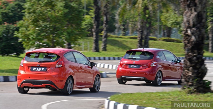 Ford Fiesta ST vs Peugeot 208 GTi vs Renault Clio RS – which one is the best hot hatch on sale in Malaysia? Image #297778