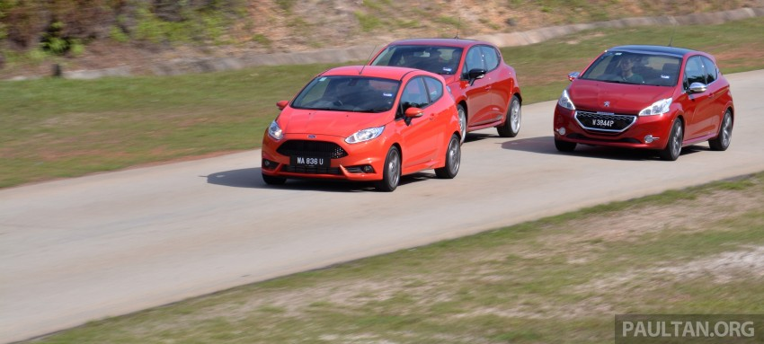 Ford Fiesta ST vs Peugeot 208 GTi vs Renault Clio RS – which one is the best hot hatch on sale in Malaysia? Image #297779