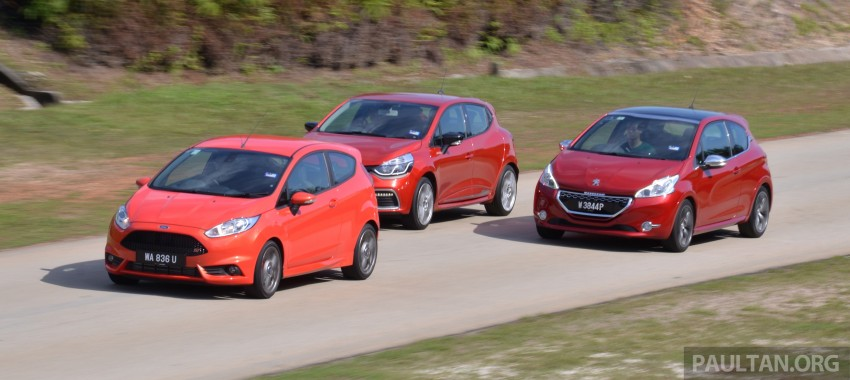 Ford Fiesta ST vs Peugeot 208 GTi vs Renault Clio RS – which one is the best hot hatch on sale in Malaysia? Image #297780