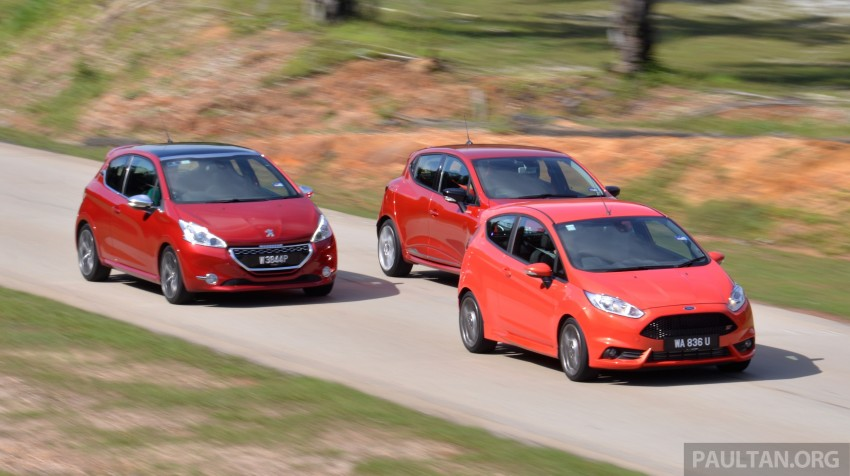Ford Fiesta ST vs Peugeot 208 GTi vs Renault Clio RS – which one is the best hot hatch on sale in Malaysia? Image #297782