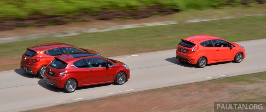 Ford Fiesta ST vs Peugeot 208 GTi vs Renault Clio RS – which one is the best hot hatch on sale in Malaysia? Image #297784
