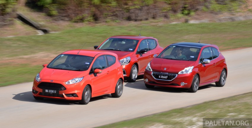 Ford Fiesta ST vs Peugeot 208 GTi vs Renault Clio RS – which one is the best hot hatch on sale in Malaysia? Image #297785