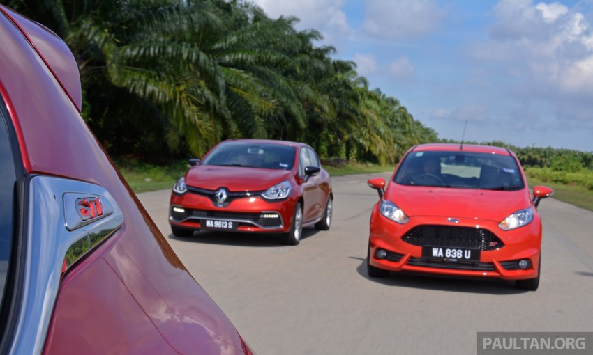 Ford Fiesta ST vs Peugeot 208 GTi vs Renault Clio RS – which one is the best hot hatch on sale in Malaysia? Image #297787