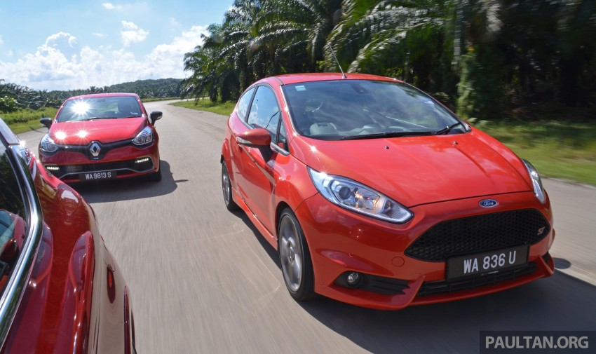 Ford Fiesta ST vs Peugeot 208 GTi vs Renault Clio RS – which one is the best hot hatch on sale in Malaysia? Image #297788