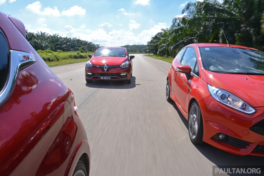 Ford Fiesta ST vs Peugeot 208 GTi vs Renault Clio RS – which one is the best hot hatch on sale in Malaysia? Image #297789