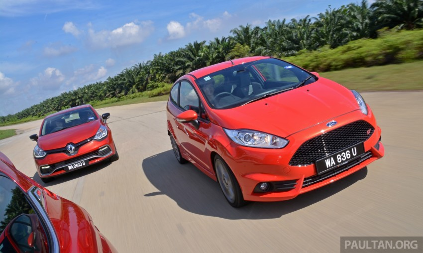 Ford Fiesta ST vs Peugeot 208 GTi vs Renault Clio RS – which one is the best hot hatch on sale in Malaysia? Image #297790