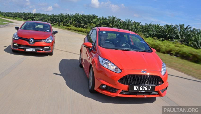 Ford Fiesta ST vs Peugeot 208 GTi vs Renault Clio RS – which one is the best hot hatch on sale in Malaysia? Image #297791