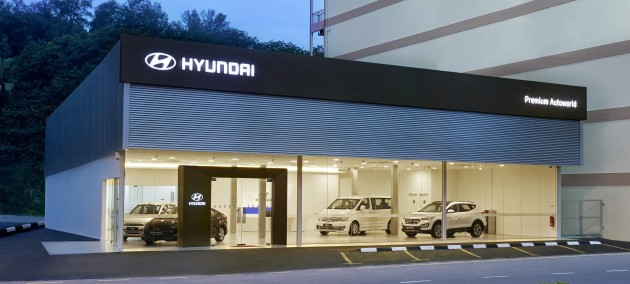 Hyundai Malaysia Sports Revamped Global Dealership Design