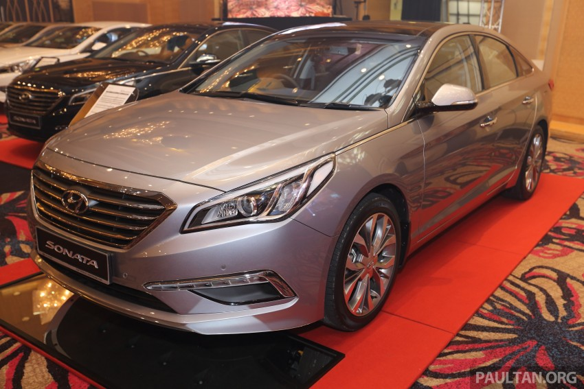 New Hyundai Sonata LF launched in Malaysia – three 2.0L variants, CBU from RM139k to RM154k Image #294486