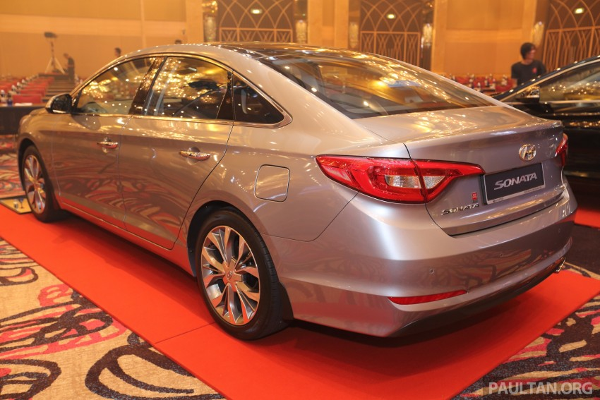 New Hyundai Sonata LF launched in Malaysia – three 2.0L variants, CBU from RM139k to RM154k Image #294488