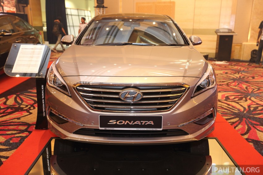 New Hyundai Sonata LF launched in Malaysia – three 2.0L variants, CBU from RM139k to RM154k Image #294489