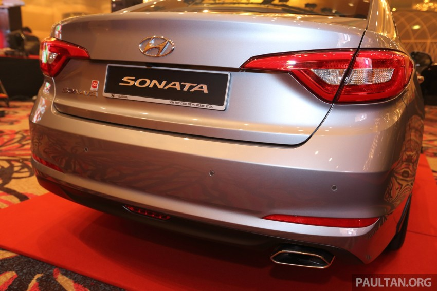 New Hyundai Sonata LF launched in Malaysia – three 2.0L variants, CBU from RM139k to RM154k Image #294502