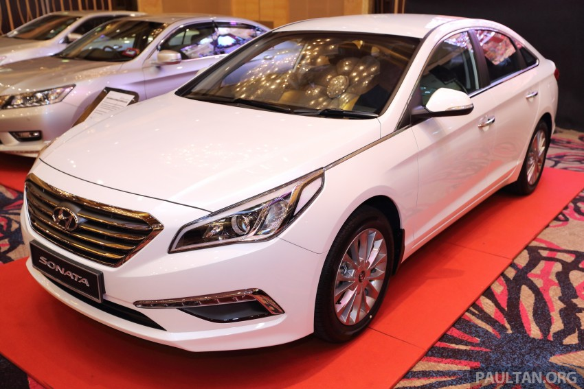 New Hyundai Sonata LF launched in Malaysia – three 2.0L variants, CBU from RM139k to RM154k Image #294558