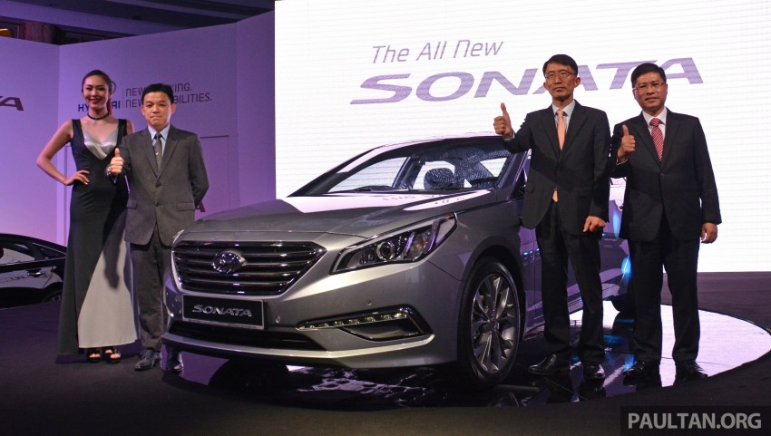 New Hyundai Sonata LF launched in Malaysia – three 2.0L variants, CBU from RM139k to RM154k Image #294650