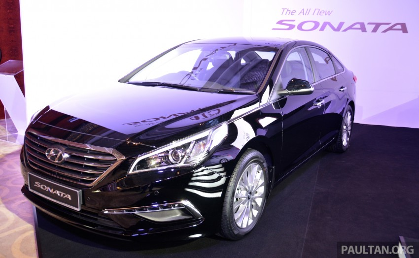 New Hyundai Sonata LF launched in Malaysia – three 2.0L variants, CBU from RM139k to RM154k Image #294715