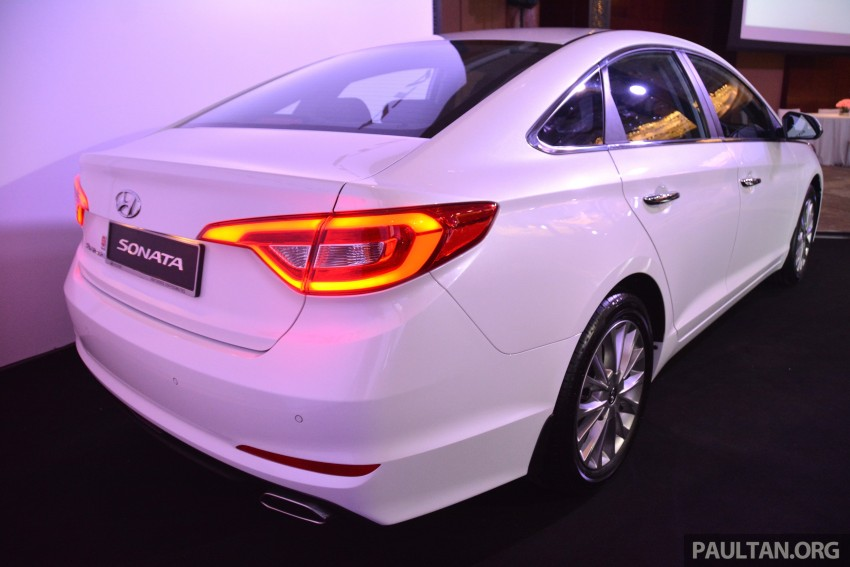 New Hyundai Sonata LF launched in Malaysia – three 2.0L variants, CBU from RM139k to RM154k Image #294723
