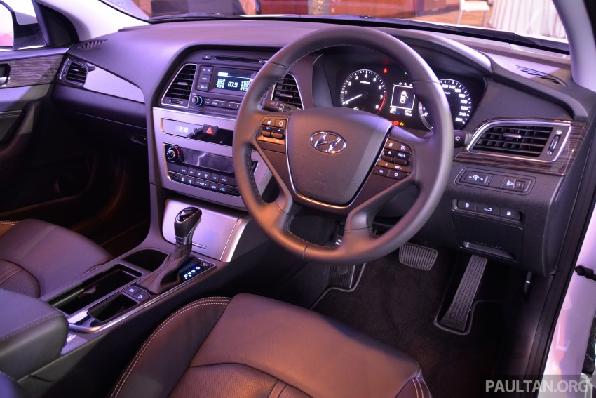 New Hyundai Sonata LF launched in Malaysia – three 2.0L variants, CBU from RM139k to RM154k Image #294725