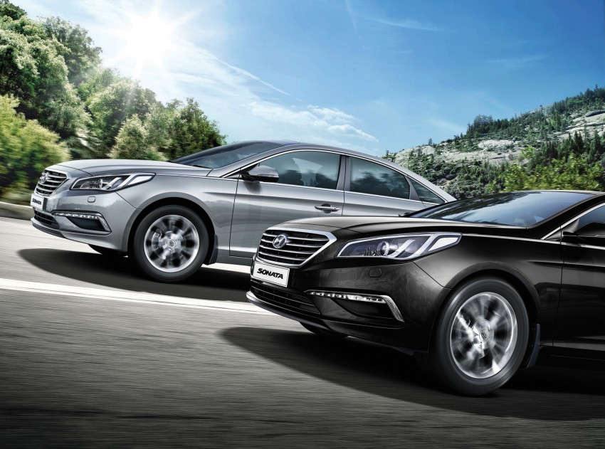 New Hyundai Sonata LF launched in Malaysia – three 2.0L variants, CBU from RM139k to RM154k Image #294566