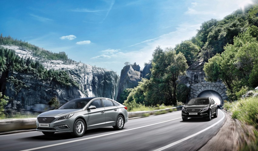 New Hyundai Sonata LF launched in Malaysia – three 2.0L variants, CBU from RM139k to RM154k Image #294567